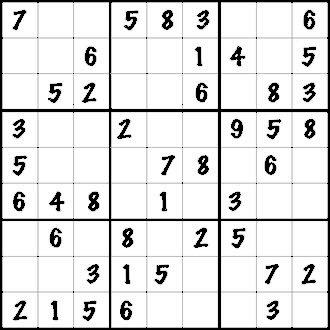 soduko printable puzzles